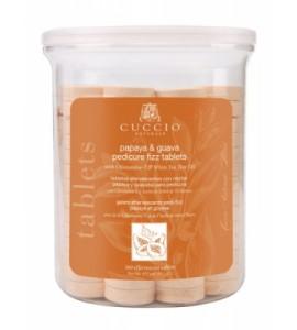 Антисептические шипучие таблетки, для педикюрных ванн, экстракт папайи и зеленого чая уп.160шт.