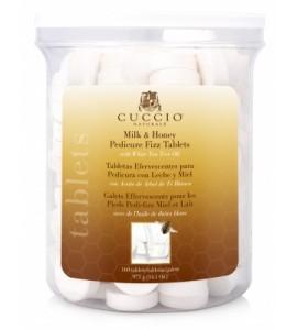 Антисептические шипучие таблетки, для педикюрных ванн, с хлорамином, молоко-мед. Уп.160шт.