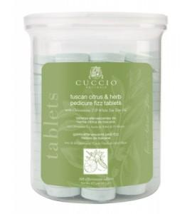 Антисептические шипучие таблетки, для педикюрных ванн, с хлорамином тосканский цитрус уп.160шт.