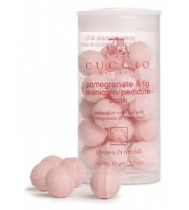 Антисептические шарики, для маникюрных ванн, гранат и инжир уп.24шт.