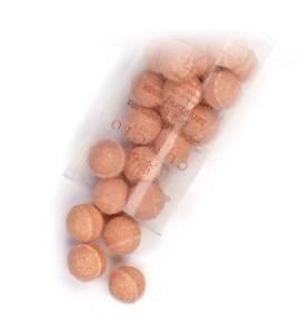 Антисептические шарики, для маникюрных ванн, с экстрактом папайи и зеленого чая уп.24шт.