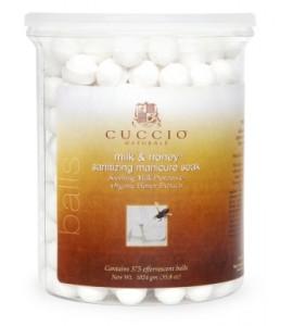 Антисептические шарики, для маникюрных ванн, мед, молоко и масло белого чайного дерева. Уп.375шт.